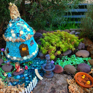 Create an amazing fairy cottage!