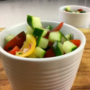 Kids Cooking from the Garden - salad pots