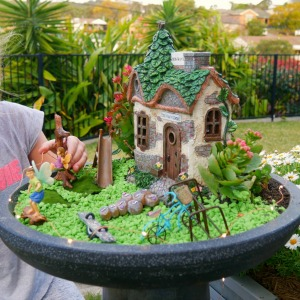 Garden Sparkle Fairy garden school - play time