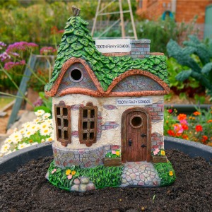 Fairy garden school - tooth fairy school