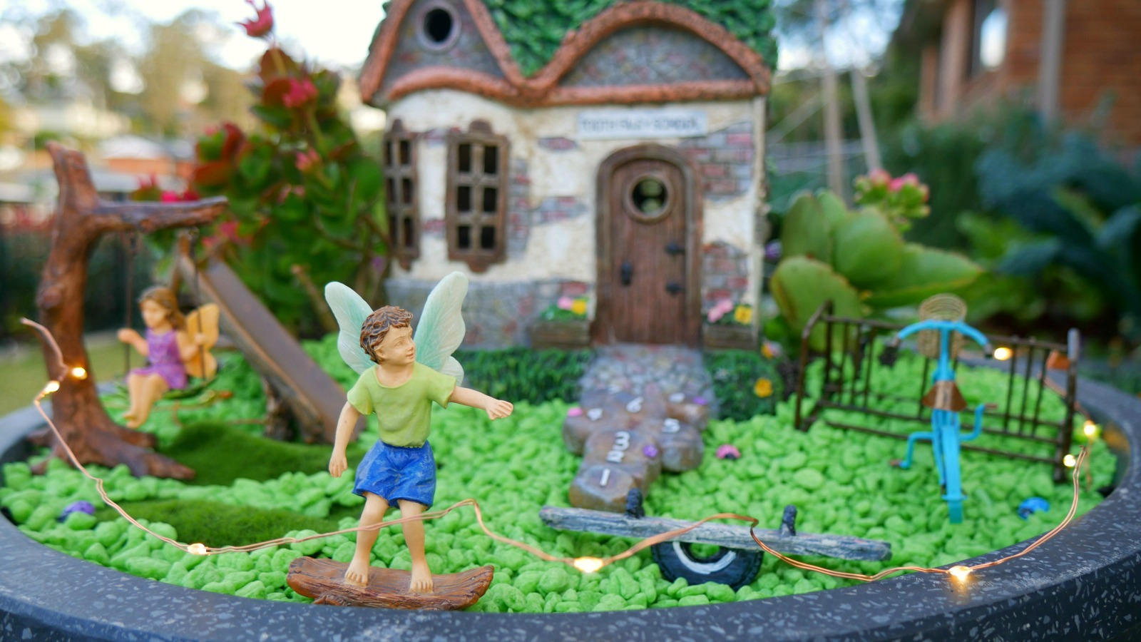 Make your own magical fairy garden school