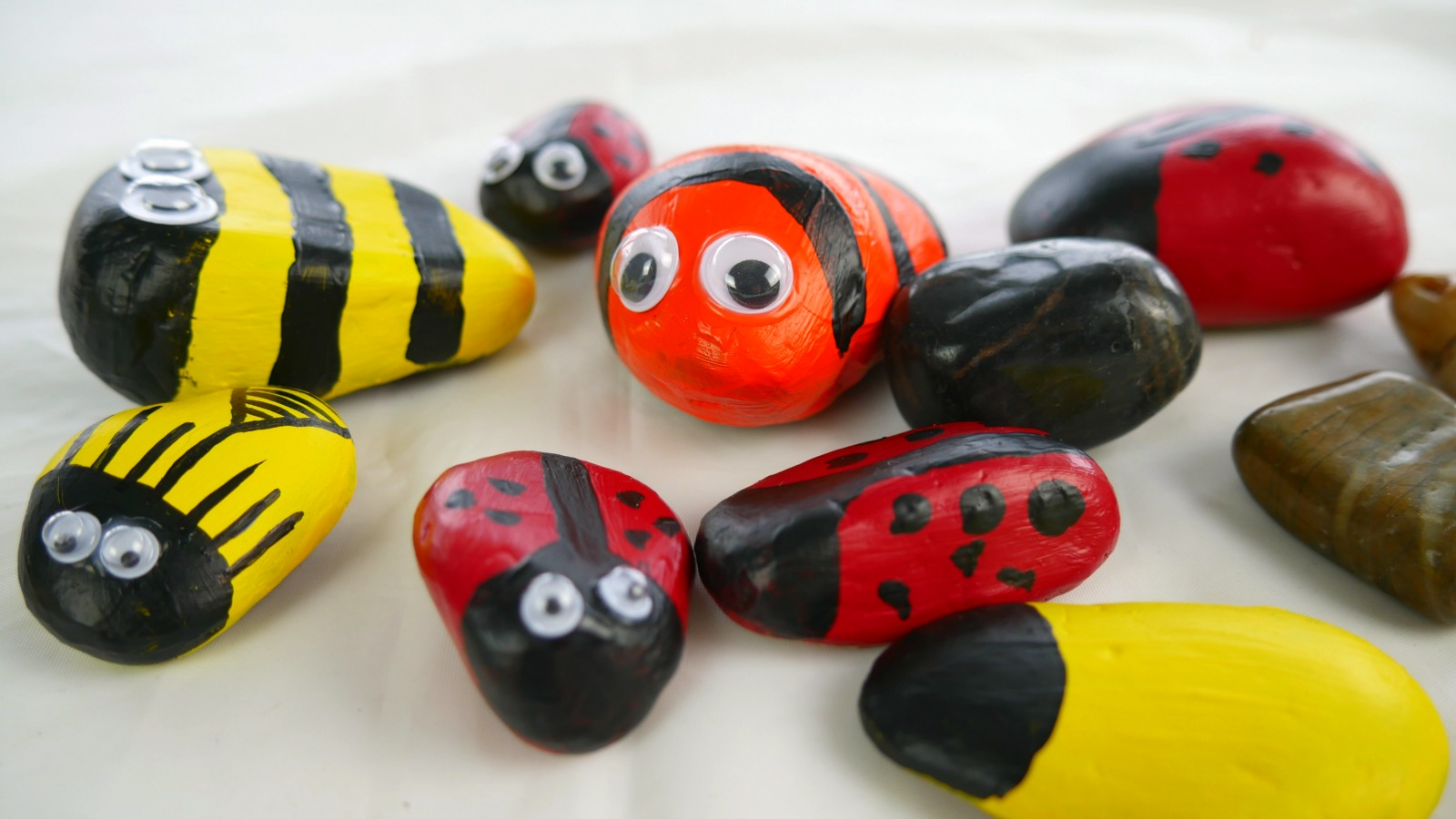 These rock bugs and beetles will make you smile