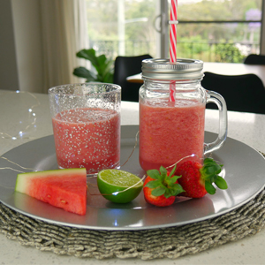 Watermelon Treats - Watermelon n Strawberry Drinks