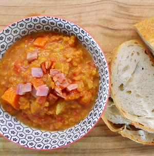 Tomato and lentil soup (slow cooker) Recipe